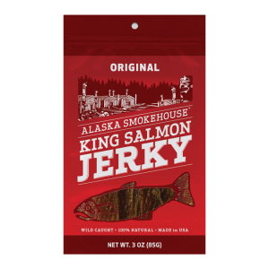 Alaska Smokehouse Salmon Jerky 3 oz