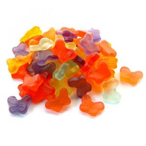 Mini Gummi Butterflies 4 oz