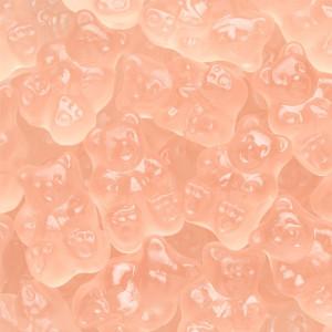 Pink Grapefruit Gummi Bears 8 oz