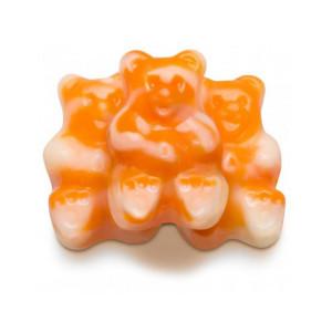 Orange Cream Gummi Bears 16 oz