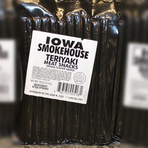 Iowa Smokehouse Teriyaki Pork Sticks 16 oz