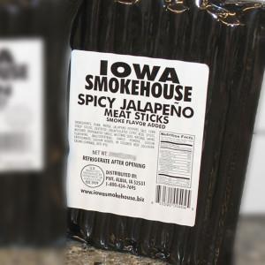 Iowa Smokehouse Spicy Jalapeno Pork Sticks 16 oz