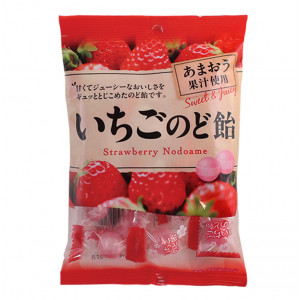 Strawberry Nodoame Candy 3.15 oz