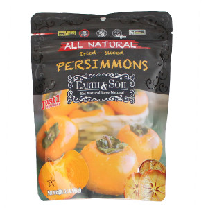 All Natural Sliced Persimmons 3.5 oz