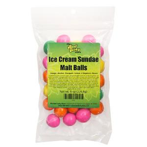 Ice Cream Sundae Malt Balls 8 oz