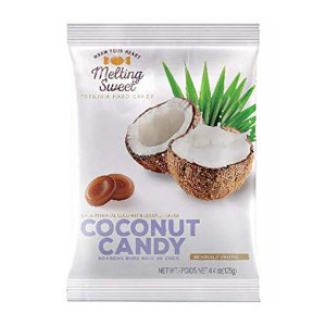 Melting Sweet Coconut Hard Candy