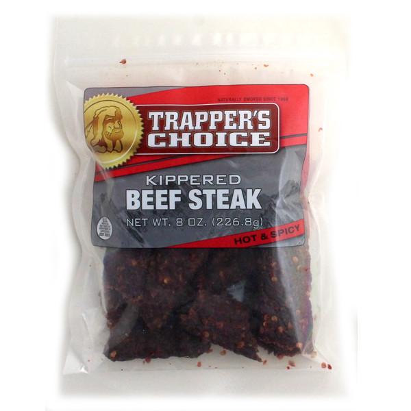 Trapper's Choice Spicy Kippered Beef Steak 8 oz