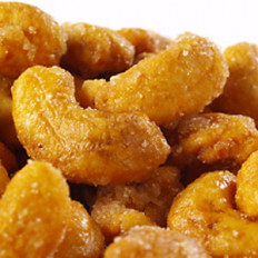 Honey Roasted Cashews 8 oz
