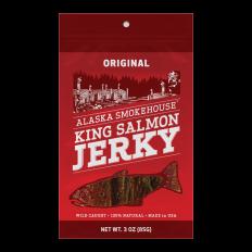 Alaska Smokehouse Salmon Jerky 3 oz
