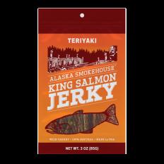 Alaska Smokehouse Teriyaki Salmon Jerky 3 oz