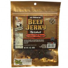 Country Butcher Crushed Chili Pepper Brisket 3 oz