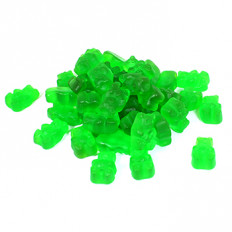 Green Apple Gummi Bears 8 oz