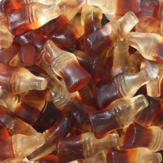 Gummi Cola Bottles 4 oz