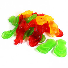 Gummi Rubbah Slippahs 8 oz