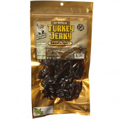 Country Butcher Sweet & Spicy Turkey Jerky 7 oz