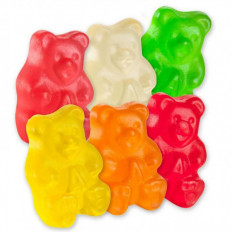 Sugar Free Wild Fruit Gummi Bears 8 oz