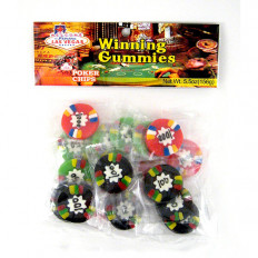 Gummi Poker Chips 5.5 oz
