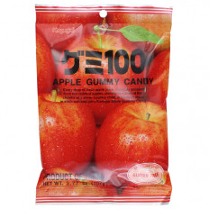 Kasugai Apple Gummy Candy 3.77 oz