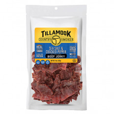 Tillamook Pepper & Sea Salt Beef Jerky 10 oz