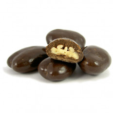 Dark Chocolate Pecans 8 oz
