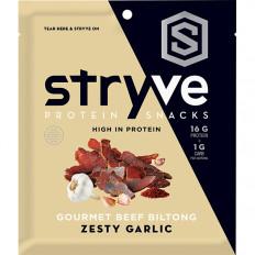 Stryve Garlic Biltong Jerky 2.25 oz