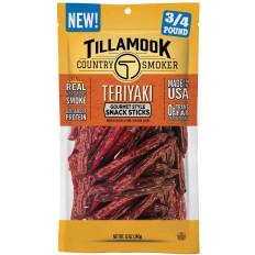 Tillamook Teriyaki Snack Sticks