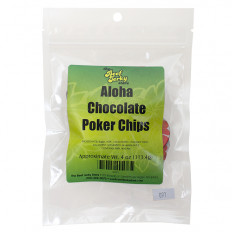 Aloha Chocolate Poker Chips 4 oz