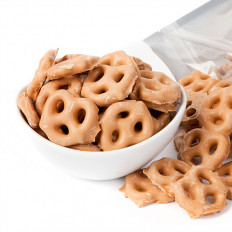 Mini Salted Caramel Pretzels 8 oz