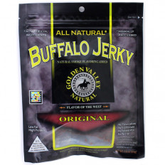 Golden Valley Natural Buffalo Jerky 3 oz